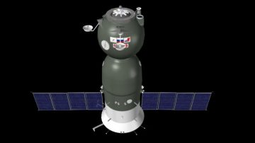 Soyus Spacecraft 3D model