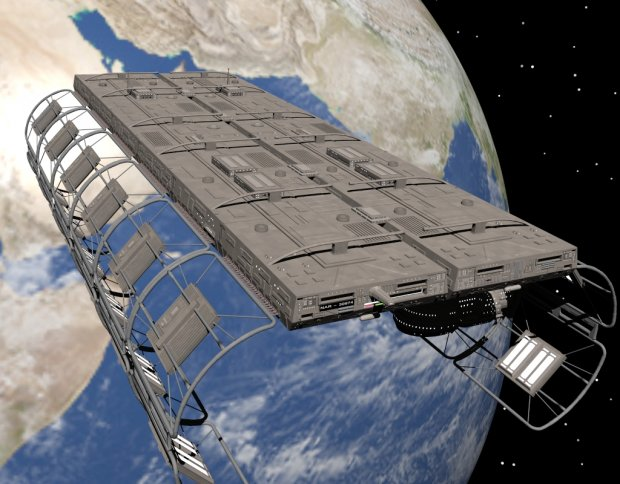 Space Dock Nar30974 Downloadfree3d Com
