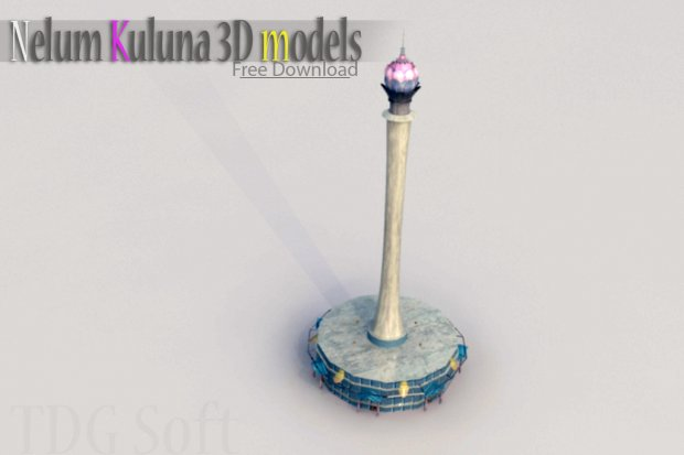 Sri lanka Big tower 3D model