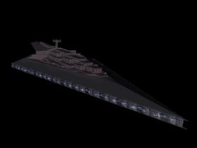 3D Star Wars Executor model