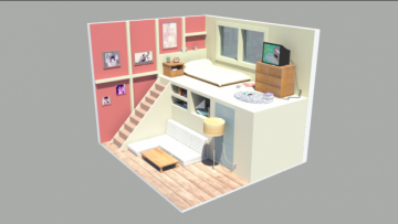 Steven Universe Room 3D model
