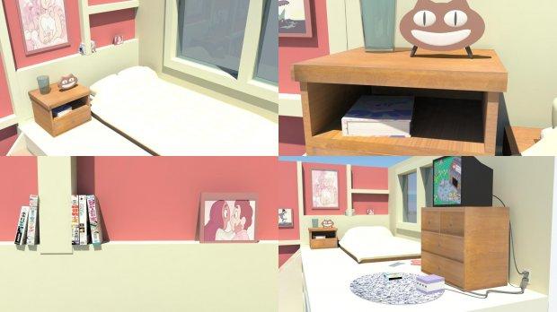 3D Steven Universe Room model