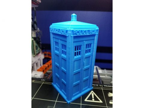 TARDIS Raspberry PI 3 case 3D model