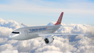 Airbus A310 Turkish Airlines 3D model
