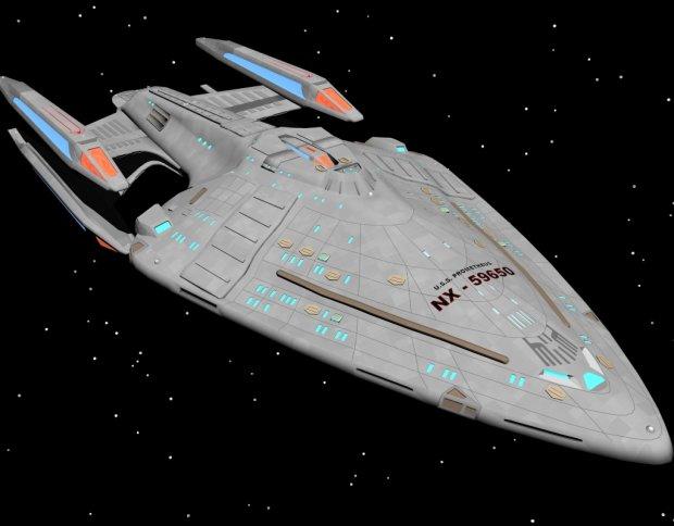 U.S.S Prometheus NX 59650 3D model