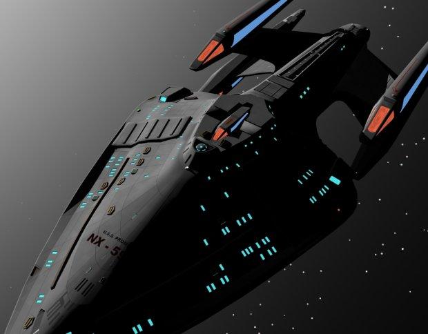 U S S Prometheus Nx 59650 Free 3d Models