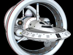 Warp Ship 3D model