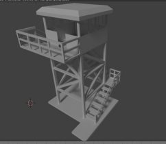 3D Watch Tower Army
