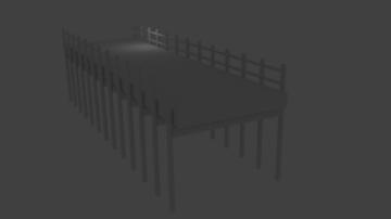 3D Water Bridge model