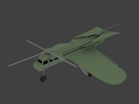 Carrier drone 3D model