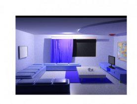Drawing room 3D model