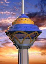 Milad tower 3D model