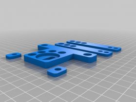 Mounting plates 3D model