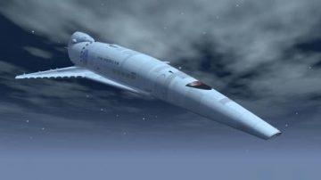Orion spaceship 3D model