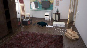 PC room 3D model
