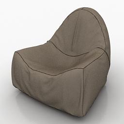 Armchair 3d model
