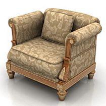 Armchair 3d model free