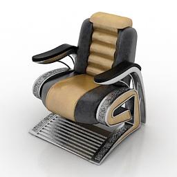 Armchair Elago 3d model
