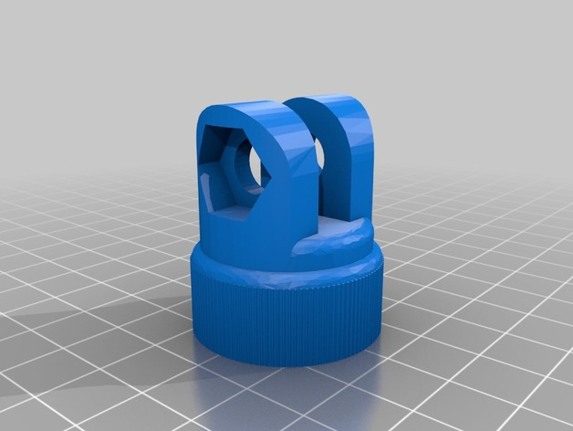 Bottle Cap Tripod Free 3d Models