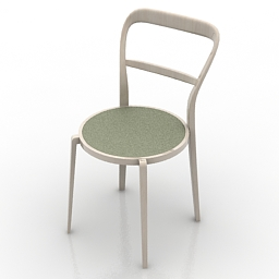 Chair Calligaris Cloe CS1086 3d model