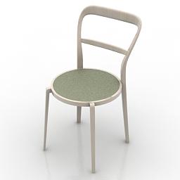 Chair Calligaris Cloe CS1086 3d model