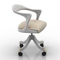 Chair Ceccotti Marlowe 3d model