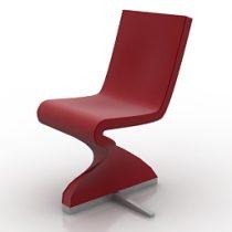 Chair Tonon Stefan Heiliger Twist 196 3d model