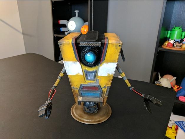 Claptrap from Borderlands 3D model