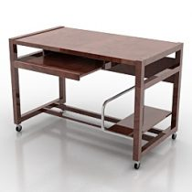 Desk Calligaris Hacker CS433 3d model