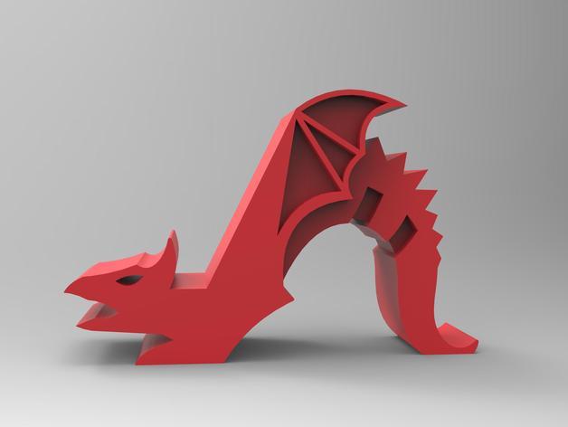 Dragon Phone Holder Downloadfree3d Com