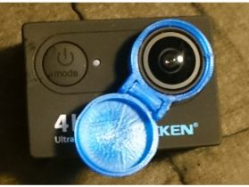 Eken H9R Action Camera Lens Cover 3D model