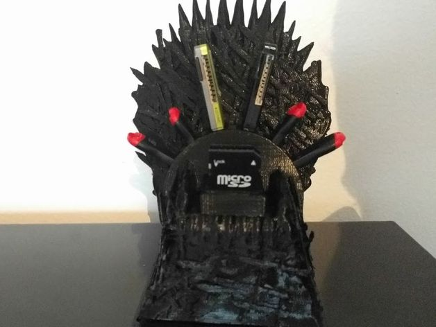 Game Of Thrones Usb Throne Free 3d Models