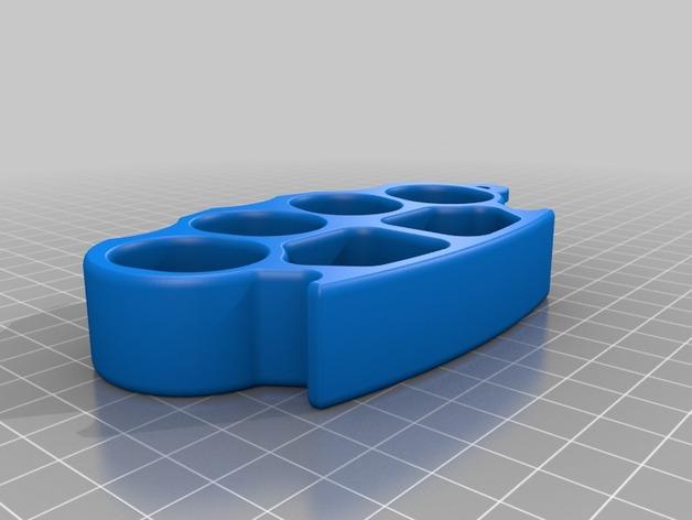 3D GoPro Knuckles model