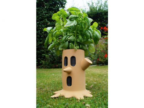 Kirby Whispy Woods Plant Pot 3D model
