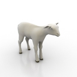 Lamb 3d model