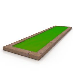 Lawn 3d model