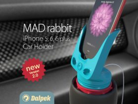 MAD rabbit - iPhone Car Holder v 2.0 3D model