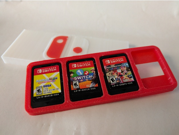 Nintendo Switch Game Case Free 3d Models