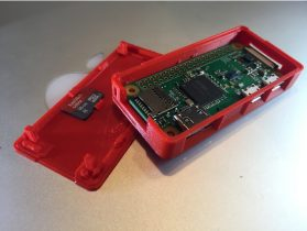 Raspberry Pi Zero Smart Case 3D model