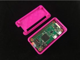 Raspberry Pi Zero W Case 3D model