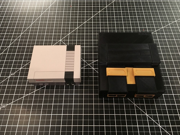 SNES (Super Nintendo) Mini Raspberry Pi 3 Case