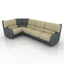 Sofa Bigher Modern 3d model