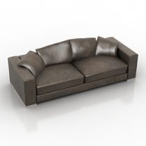 Sofa Fendi MAGNUM 3d model