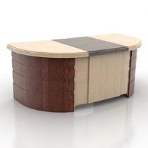 Table derom 3d model