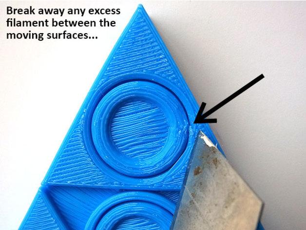 Triforce Fidget Spinner