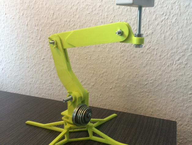 3D Universal camera mount standing & printer mount model