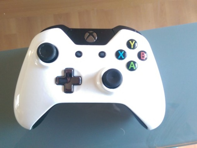 Xbox One Controller Faceplate Free 3d Models