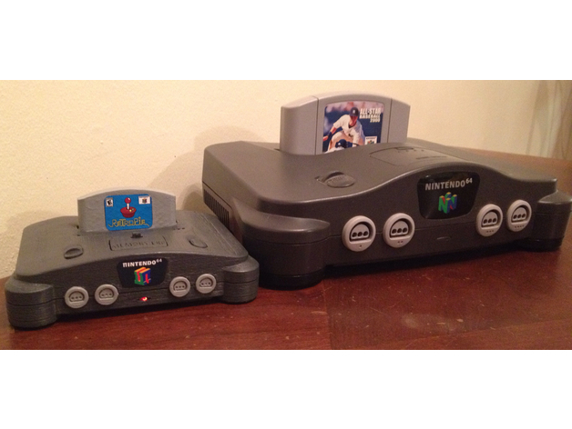 Mini N64 RetroPie case | Free 3D models