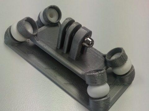 Anti-vibration GoPro Mount 3D model