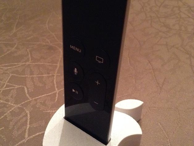 3D Apple TV Remote Holder Model